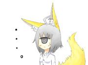 狐耳な一つ目