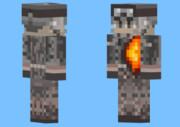 minecraftのスキン→BF3のトップの人を作ってみた