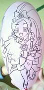 風船にブロッサム描いてみた。