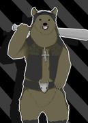 例のクマさん