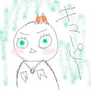 ニコ生にてリクエストいただき調子にのってキューピー人形をうる覚えながら描いてみた