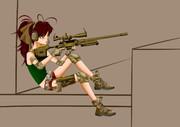 M500と少女