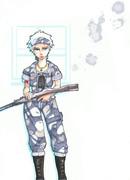 銃と灰色の兵士