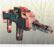 高3の頃描いたSFっぽい銃みたいな何か~