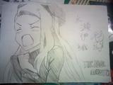 水瀬 伊織 ちゃんを描いてみました!