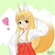我が家の狐っ娘