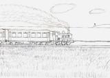 The Coast side Track(線画)