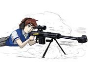 銃と美少女?