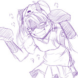 黒子「お姉様〜♪黒子めが履かせて差し上げますわ〜♡」