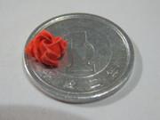 バラを小さいの折ってみた。 川崎 敏和さんの作品