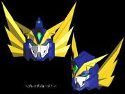 【MMD製作状況】L式BS型第三世代モデル 龍神合体バーンガーン 01