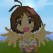 【Minecraft】愛ちゃんお誕生日記念ドット【アイドルマスター】
