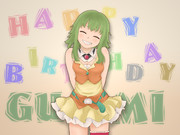 HAPPY BIRTHDAY GUMI!!