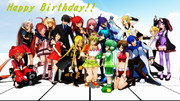 Happy Birthday!! GUMI