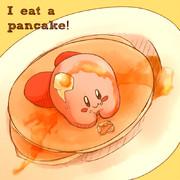 ホットケーキ食べようと思ったら
