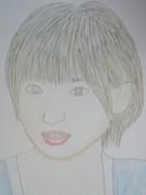 篠田麻里子似顔絵