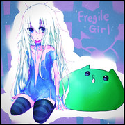 Fragile Girl 【色鮮やか差分】