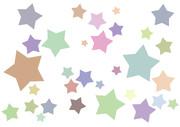 【背景素材258】星19