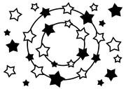 【背景素材259】星20