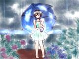 傘の中の青空