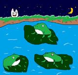 カエルの集会