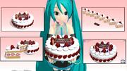 大葉真琴様制作のケーキが配布されましたよ!
