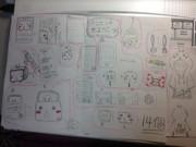 ニコニコ動画の右上さんグッズ描いてみた。