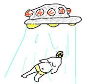 アメリカ人少年が描いたUFOにアブダクトされるニコ生LOVE