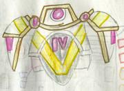 バードアーマー・女性用の両肩アーマー付き胸アーマー
