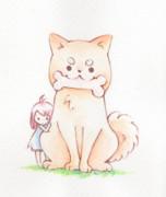 イヌと女の子