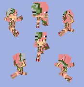 【Minecraft】ゾンビピッグマンパーカー