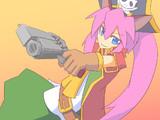 ネコミミ海賊少女