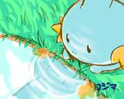 夏にはやっぱりミズゴロウ