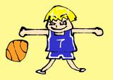 マウスで描いた黒子のバスケの黄瀬涼太 Kuroko's Basketball
