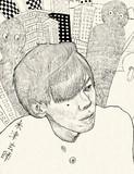 ハチさん(米津玄師さん)の似顔絵