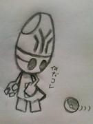 鉛筆で気ままにポケモン描いてみた3