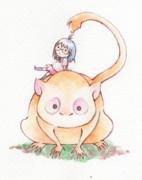 サルと眼鏡
