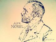 ノーベル描いてみた