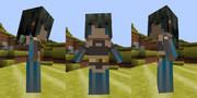 【Minecraft】littleMaidMobでオリジナルキャラクター