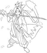 妖夢(線画)