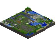 【Minecraft】名古屋城全景
