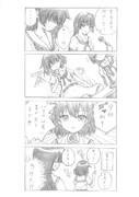 【咲4コマ】 記者会見