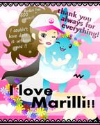 マリルリ、いつもありがとう