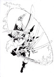 海賊狩りのゾロ描いてみました