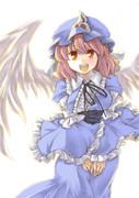 あれ・・・おかしいな幽々子様が天使に見え(ry