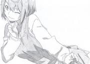 【模写】左王子蘭子【さんかれあ】