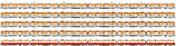 阪神8000系タイプⅡ~Ⅳ単独編成各種 側面イラスト