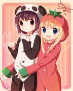 パンダとトメィトゥ