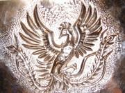 記念硬貨の鳳凰をまねてみたよ