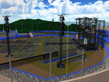 葱ヶ谷スタジアム用ステージ。